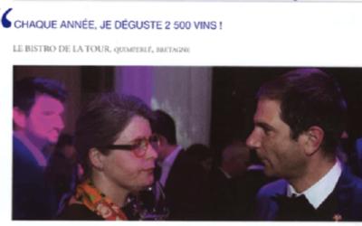 «Le bistrot de la Tour» élu meilleure carte des vins